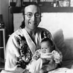 John Lennon and son, Sean