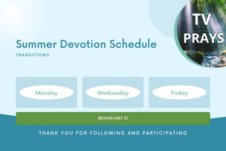 Devotion Schedule