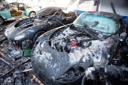 TVR traurige Überreste nach Brand (3)