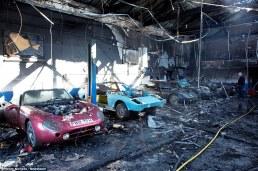 TVR traurige Überreste nach Brand (7)