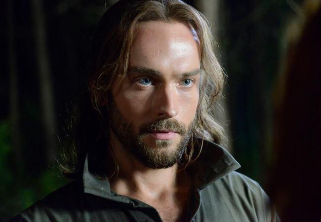 Tom Mison plays Ichabod Crane on the FOX TV series Sleepy Hollow