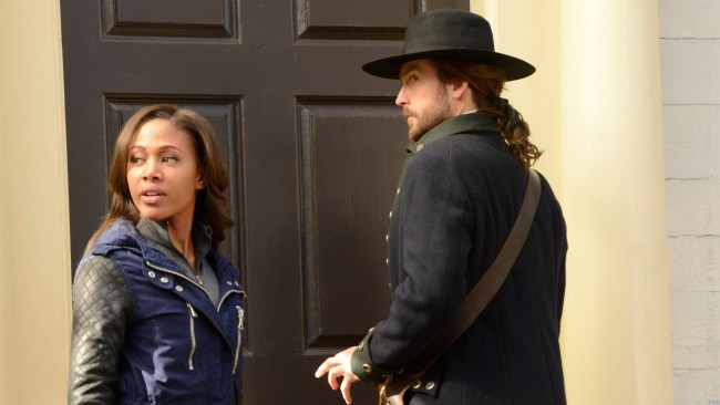 Abbie and Ichabod in 1781