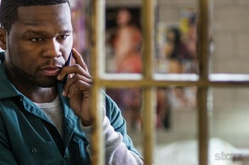 50 Cent as Kanan behind bars on Power