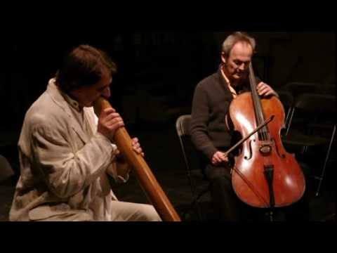 Didgeridoo und Violoncello, Improvisationen