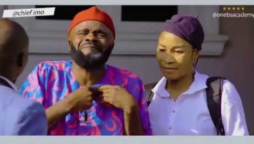 Chief Imo - Onebs Foundation Academy As Sister Goes To School [Comedy Video]