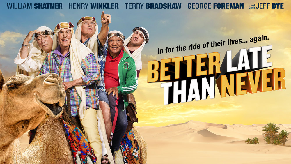 Better Late Than Never NBC TV Show: Ratings (Cancel Or