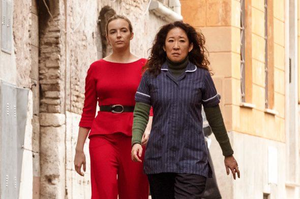 Killing Eve TV show on BBC America: season 1 (canceled or renewed?)