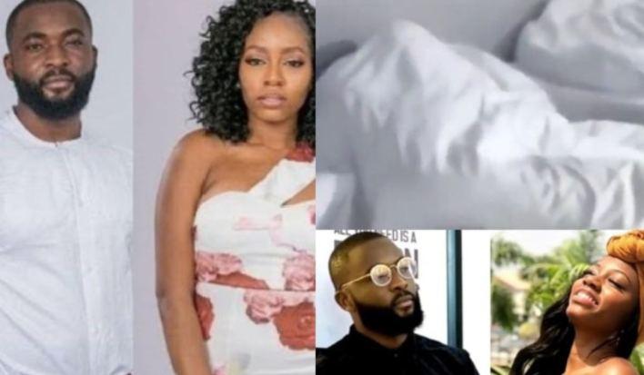BBNaija 2019 Day 19: Khafi and Gedoni caught having sexx (Video)