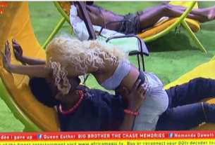 BBNaija 2019 Day 34 Saturday Night Party, Mercy becomes 'Merciless and Wild' - Video
