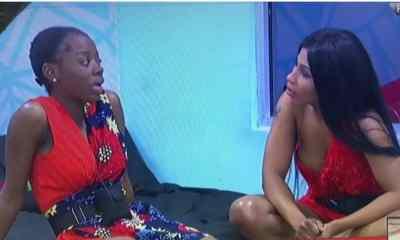 BBNaija 2019: Watch The Moment Mercy Told Diane To Go Tie Up Tacha (Video)