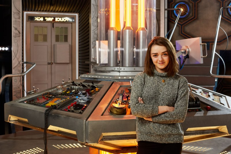 """Maisie Williams guest stars in Season 9 of """"Doctor Who."""" (BBC America)"""