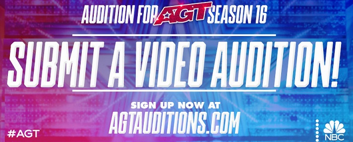AGT Audition, Online, Submit Videos Online