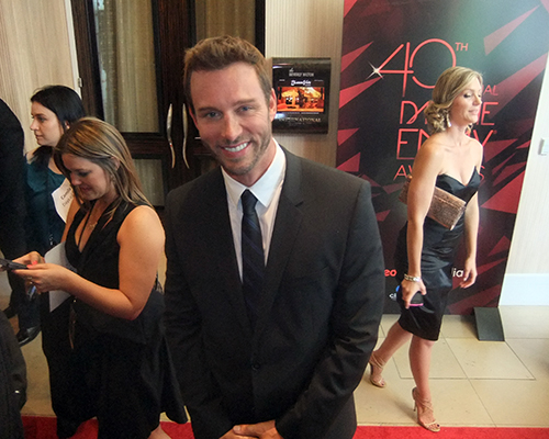 Actor Eric Martsolf attends The 40th Annual Daytime Emmy Awards at The Beverly Hilton Hotel on June 16, 2013 in Beverly Hills, California. Photo Credit: William Dallman/SoSource Media