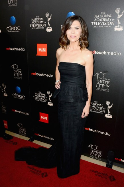 Actress Finola Hughes (General Hospital) attends The 40th Annual Daytime Emmy Awards at The Beverly Hilton Hotel on June 16, 2013 in Beverly Hills, California. - Source: Mark Davis/Getty Images North America