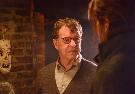 "SLEEPY HOLLOW: John Noble (L) guest-stars in ""The Sin Eater"" episode of SLEEPY HOLLOW airing Monday, Nov. 4  (9:00-10:00 PM ET/PT) on FOX. ©2013 Fox Broadcasting Co. CR: Brownie Harris/FOX"