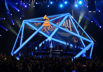 General view of the atmosphere during The GRAMMY Nominations Concert Live!! Countdown To Music's Biggest Night at Nokia Theatre L.A. Live on December 6, 2013 in Los Angeles, California. Photo Source: Frederick M. Brown/Getty Images North America)