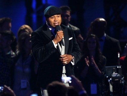 Host LL Cool J speaks onstage during The GRAMMY Nominations Concert Live!! Countdown To Music's Biggest Night at Nokia Theatre L.A. Live on December 6, 2013 in Los Angeles, California. Photo Source: Frederick M. Brown/Getty Images North America)