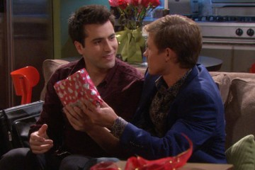 Will (Guy Wilson) accepts Sonny's (Freddie Smith) marriage proposal. Photo courtesy NBC