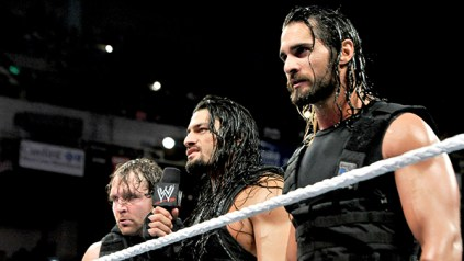 The Shield has an ultimatum for Evolution. Photo Credit: WWE