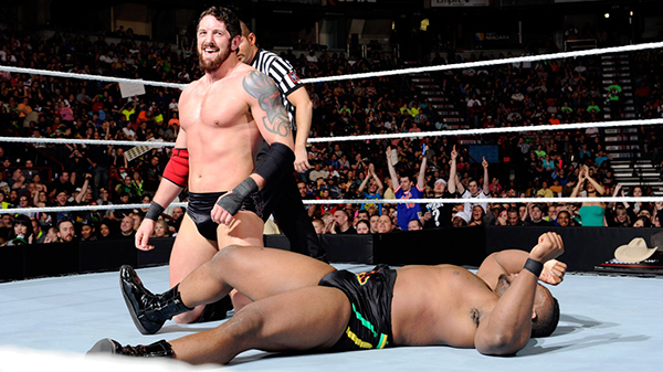 Wade Barrett retains the Intercontinental Championship. Photo credit WWE