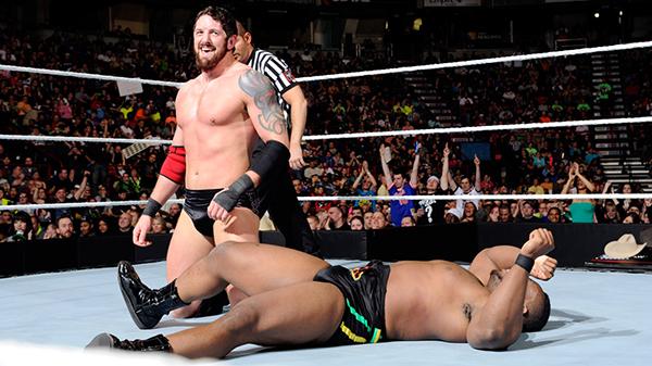 Wade Barrett retains the Intercontinental Championship. Photo credit WWE