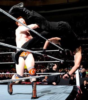 Sheamus wins the US Championship. Photo credit WWE
