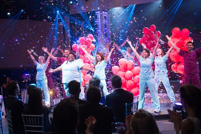 "GENERAL HOSPITAL - 2015 NURSES BALL - 3/24/15 The Nurses Ball begins airing Friday, May 1, 2015 - Tuesday, May 5, 2015 on ABC's ""General Hospital"". The Emmy-winning daytime drama ""General Hospital"" airs Monday-Friday (3:00 p.m.- 4:00 p.m., ET) on the ABC Television Network. GH15, Episodic (ABC/Todd Wawrychuk) MARC ANTHONY SAMUEL, SONYA EDDY, TERESA CASTILLO"