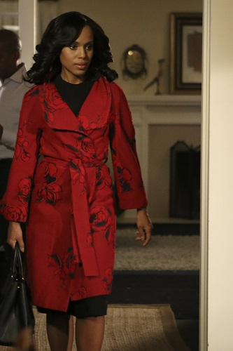 "SCANDAL - ""It's Hard out Here for a General"" - It's been six months since Olivia and Fitz have broken up, and they are both handling their newfound freedom in very different ways. Meanwhile, the Pope and Associates team take on a case that could lead to a national crisis on the red-hot return of ""Scandal,"" THURSDAY FEBRUARY 11 (9:00-10:00 p.m. EST) on the ABC Television Network. (ABC/Kevin Estrada) KERRY WASHINGTON"