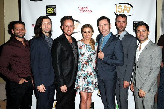 Brianna Brown, cast of EASTSIDERS attend the 7th Annual Indie Series Awards at El Portal Theatre in North Hollywood, CA on 4/6/16. © Jill Johnson/jpistudios.com