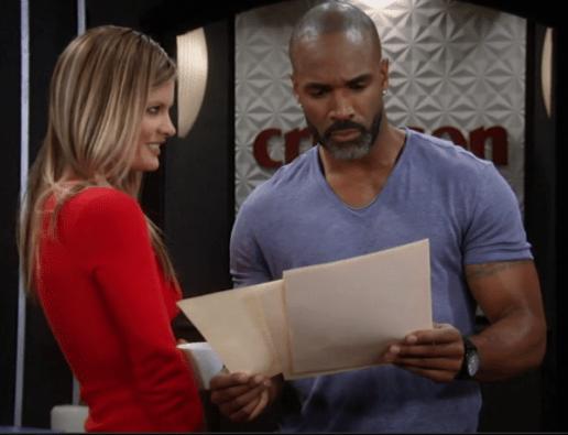 Nina puts Cutis on the case.