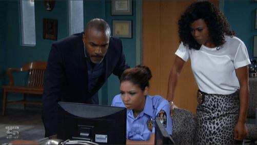 Curtis, Val and Jordan get a clue.