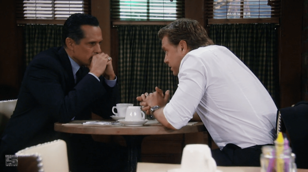 Jason and Sonny disagree on how to handle Julian.