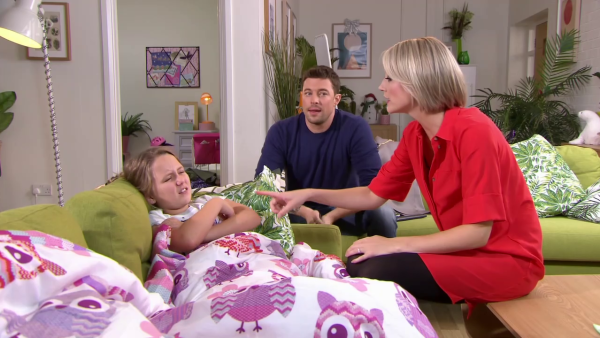 Leah comes in between Ryan and Amy.