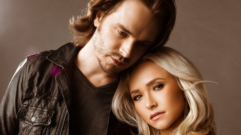 Jonathan Jackson and Hayden Panettiere