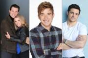 Christie Clark, Austin Peck, Chandler Massey, Zach Tinker