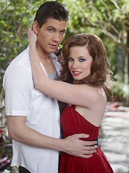 Casey Deidrick and Molly Burnett
