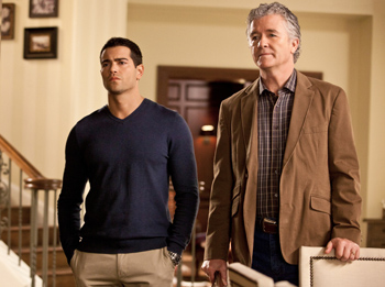 Jesse Metcalfe and Patrick Duffy