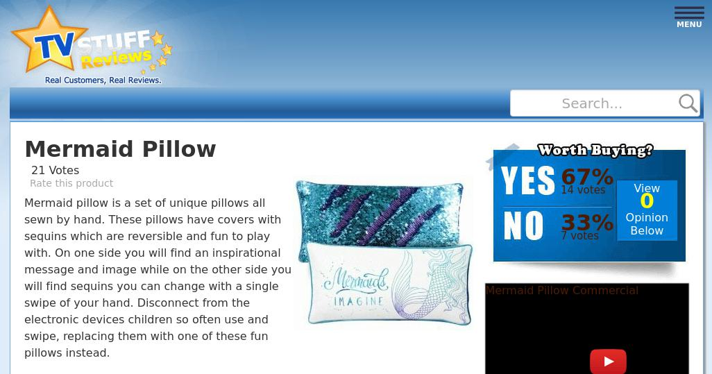 mermaid pillow reviews too good to be