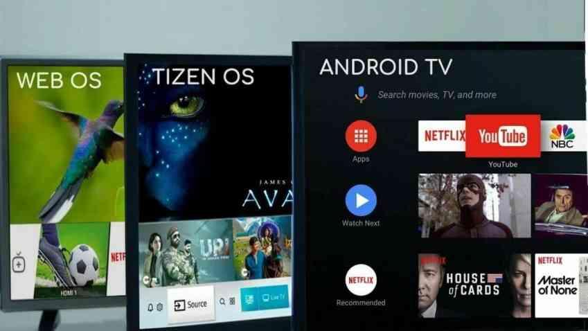 Webos, Tizen ve Android Kıyaslama