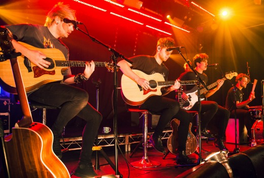 Gallery: 5SOS Live: Stripped & Intimate  – TV Tonight