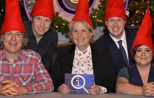 Frozen Christmas Special.Qi Christmas Special Disappears Tv Tonight