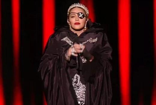 Madonna autotunes Eurovision performance for YouTube