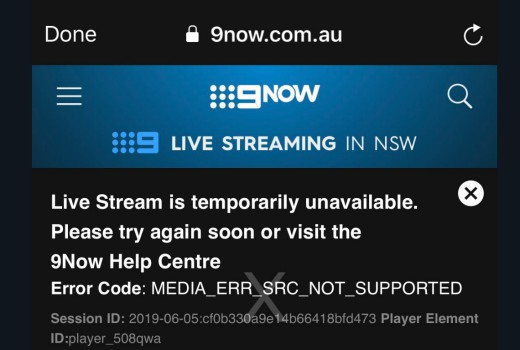 9Now apologises for faulty Origin streaming – TV Tonight