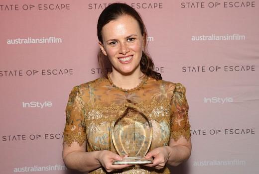 Writer Samantha Strauss honoured