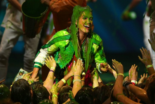 XXX performs during the Nickelodeon Slimefest 2016 evening show at Margaret Court Arena on September 25, 2016 in Melbourne, Australia.