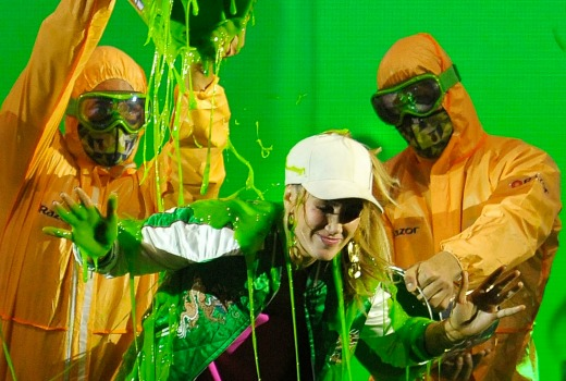 XXX performs during the Nickelodeon Slimefest 2016 matinee show at Sydney Olympic Park Sports Centre on September 30, 2016 in Sydney, Australia.