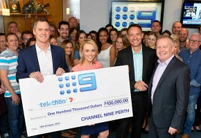 Channel9 Telethon donation