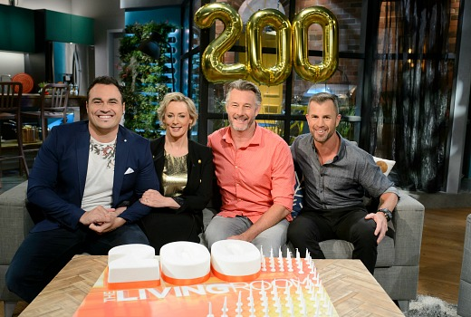 The living room reaches 200 episodes tv tonight for Better homes and gardens australia episodes