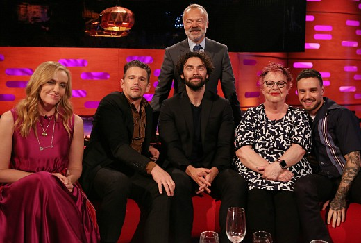 The graham norton show june 8 tv tonight for The living room channel 10 tonight
