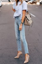 Favorite way to wear straight jeans